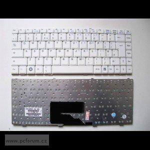 Tlačítka na klávesnici notebooku